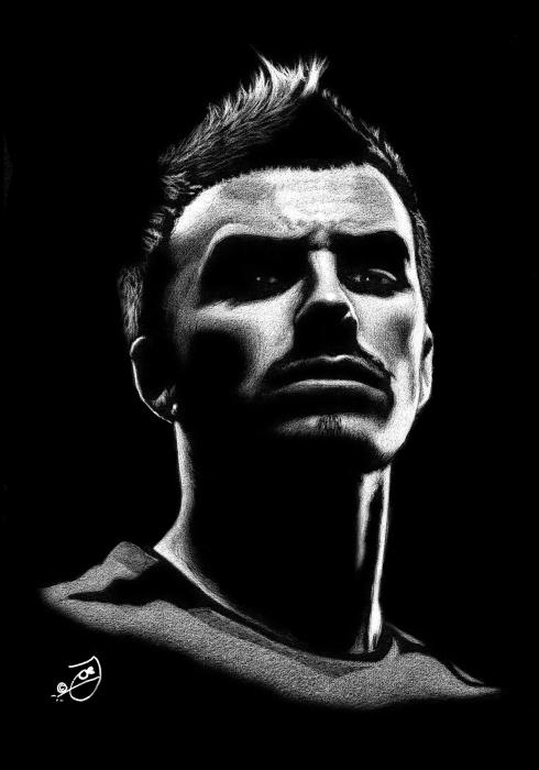 David Beckham by JoeJose